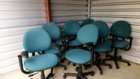 Blue Steelcase Office Chairs. Dallas, 75287