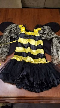 girl's black and white bee costume Bakersfield, 93314
