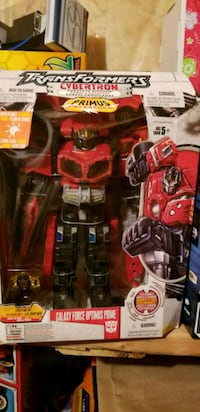 Transformers Optimus Prime cybertron Mississauga, L4W