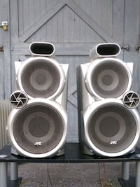 Two JVC Speakers ????..in good condition.. Hagerstown, 21740