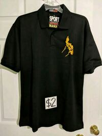 Black Large Size Polo Shirt (New) Mississauga, L5M 4S9