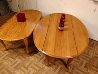 Nice wooden 2 tables in great condition, big one w Annandale, 22003