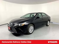 2016 Toyota Camry Black sedan Houston
