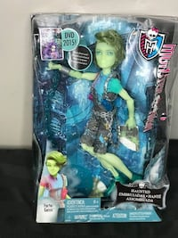 Mattel Monster High Haunted Edition Porter Geiss Collectible Doll   Wh Toronto