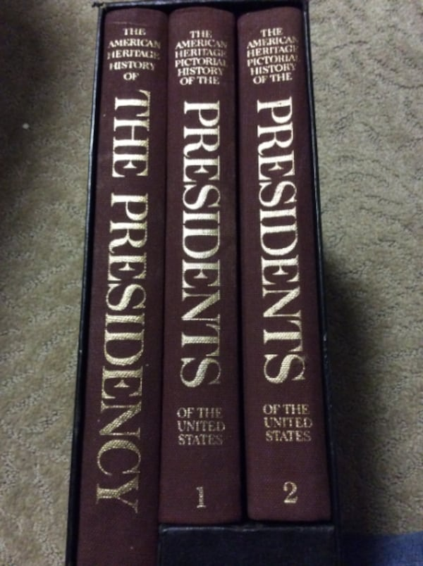 JR The American Heritage History of The Presidents of the US f9d5b40c-476b-44fa-a54c-c9574caa8ba0