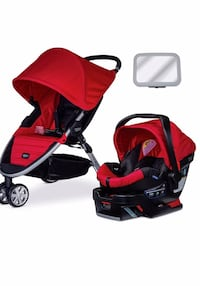 baby's red-and-black travel system New York, 11234