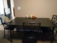 Full set table with 3 chairs  Savannah, 31415