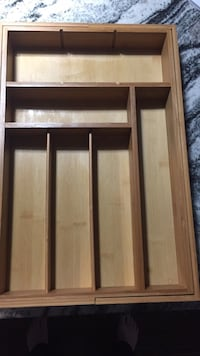 Expandable Wooden Utensils storage for drawer  Oakville, L6J