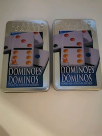 Dominoes x 2 Containers