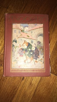 Pinocchio Book- The Story of A Marionette Mahopac, 10541