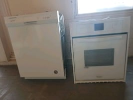 Dish washer and oven