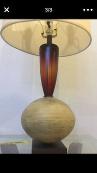 brown and black table lamp Miami, 33156
