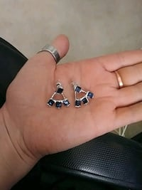 Sterling silver earrings. 20.00 Edmonton, T5B 3P5