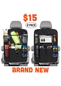 New 2 pack backseat car organizers Las Vegas, 89113