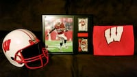 black and red football player trading card Round Lake Beach, 60073