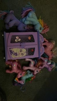Jewelry box and my little pony Calgary, T2Z 3B7