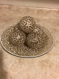 Mosaic accent decor from Smoke/Pet Free Home! Asking $25 obo. London, N5V 2E5