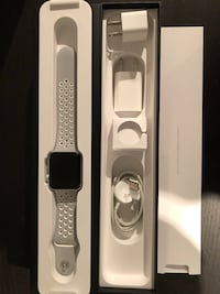 Apple Watch Series 2, Nike+, 42 mm, + Kvitto Sollentuna, 191 47