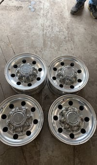 8-bolt ford rims 16x7!