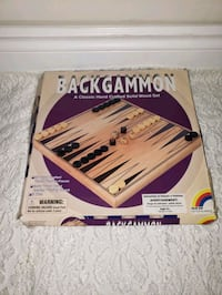 backgammon classic handcrafted solid wood set Richmond Hill, L4S 1E7