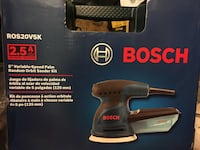 "Bosch 5"" random orbit sander/polisher Richmond, V6Y 1T6"
