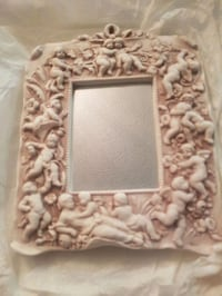 white and brown floral photo frame Toronto, M1W 3Z3