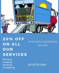 Local moving Clarksville