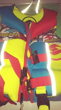 yellow blue and red inflatable vest Cathedral City, 92234