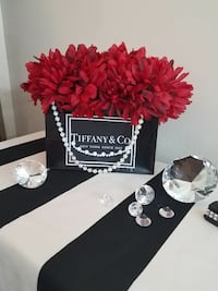 Tiffany bag with flowers decor  Wilsonville, 97070