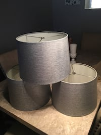 Grey lamp shade from Leon's Brampton, L6S 2T8