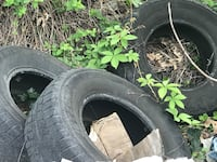 4 Tires-tire swing, planters,pond fish dwellings  Harpers Ferry, 25425