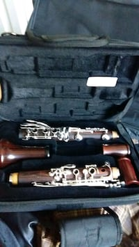 black and gray clarinet in case Burnaby, V5C 0A8
