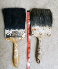 "Vintage 4"" Wide Horse Hair Paint Brushes  Gaithersburg"