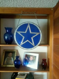 DALLAS COWBOY STAINED GLASS Lancaster, 93534