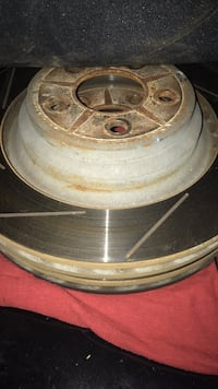 challenger srt rear rotors slotted used Fairfax, 22031