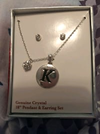 Necklace and earrings. St. George, 84770
