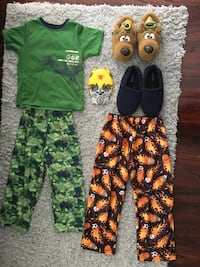 6-Piece Pajamas-Slippers-Mask  Dearborn Heights, 48127