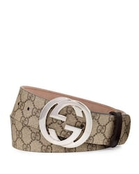 brown and white Gucci belt Vaughan, L4K 5J2