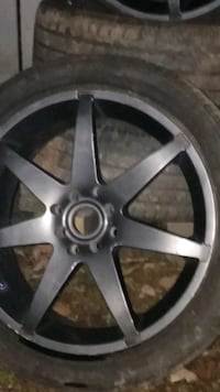 17 inch Pirelli Rims and Firestone Low-Pro Tires 4 lugg unipattern Kings Mountain, 28086