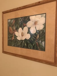 Home decor/wall picture framed  Beautiful Magnolia print  Charlotte, 28277