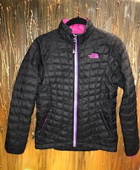 The North Face Girl's Youth Thermoball Full Zip Jacket