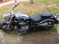 black and blue cruiser motorcycle Moreno Valley, 92555