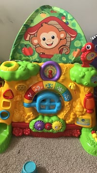 baby's yellow and multicolored musical toy Ashburn, 20147