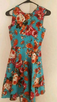women's multicolored floral sleeveless dress Fremont, 94538