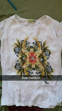 white and yellow floral print shirt Prince George, V2M 3P7