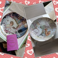 two decorative plate collage Los Angeles, 90044