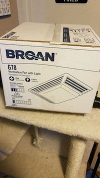 Broan ventilation fan with light brand new  Knoxville, 37938
