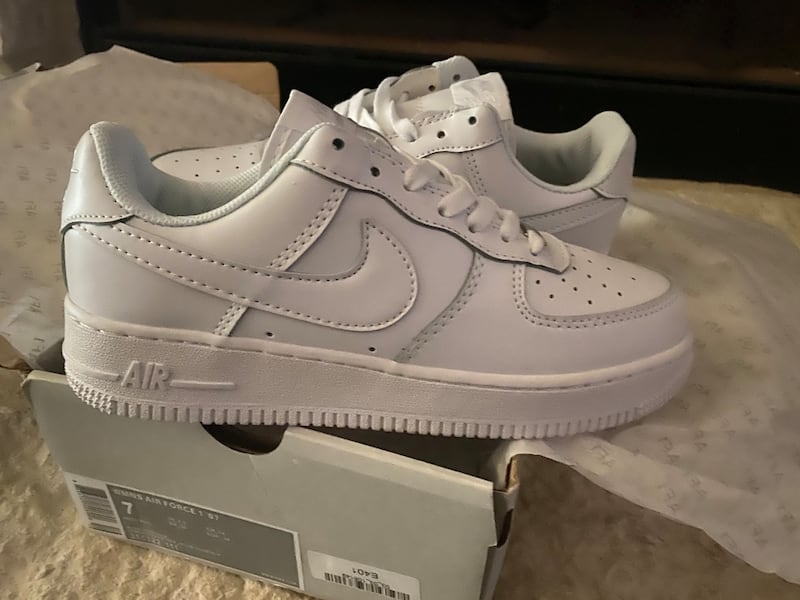 Sold Women S Nike Air Force 1 Triple White Size 7 In San Antonio