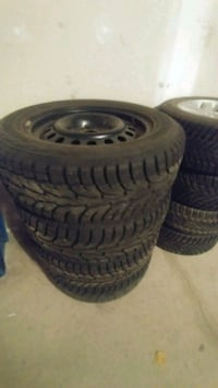 225/65/R17 Hankook i-Pike Winter Tires and Rims Milton, L9T 0G2