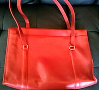 Red leather Coach purse McLennan County, 76630
